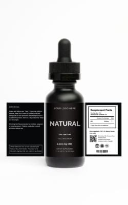 Private Label CBG Tincture